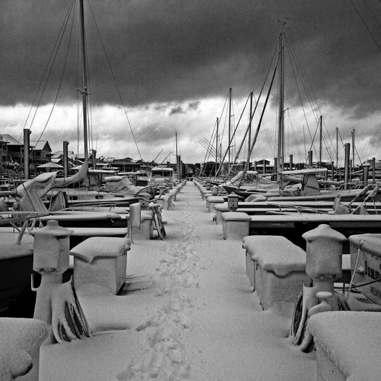 Snowy Marina