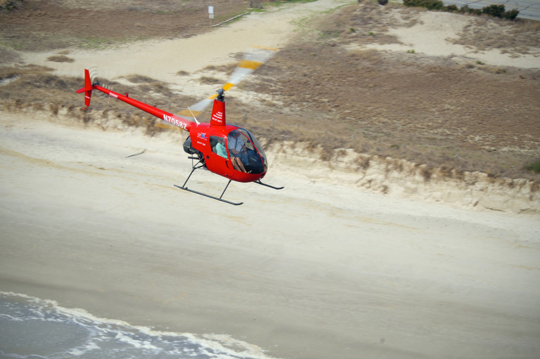 R22 Over the Beach