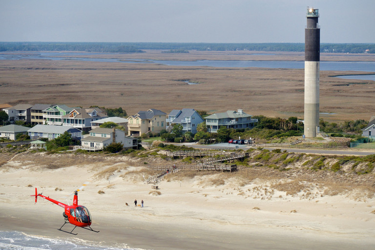 R22 and Oak Island Lighthouse